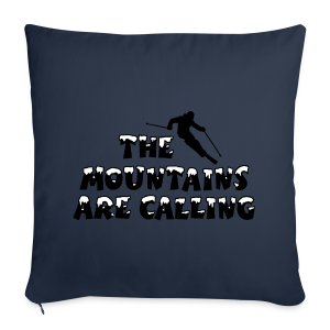 The Mountains are Calling Ski Skifahrer Design