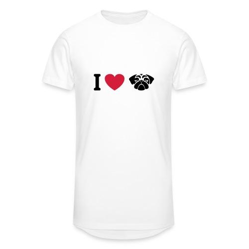 I love mops - Männer Urban Longshirt