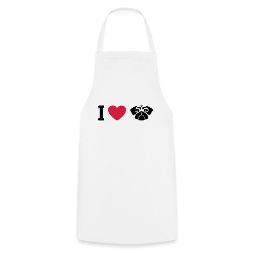 I love mops - Kochschürze