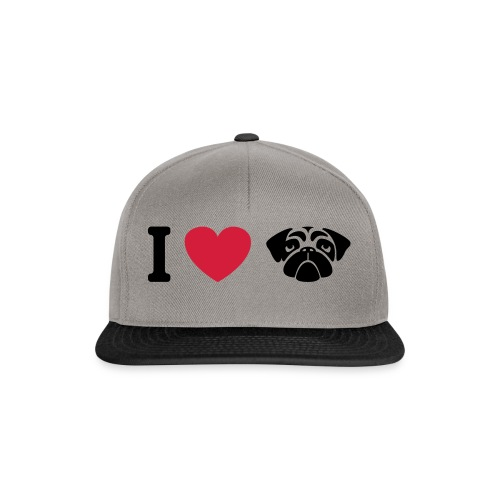 I love mops - Snapback Cap