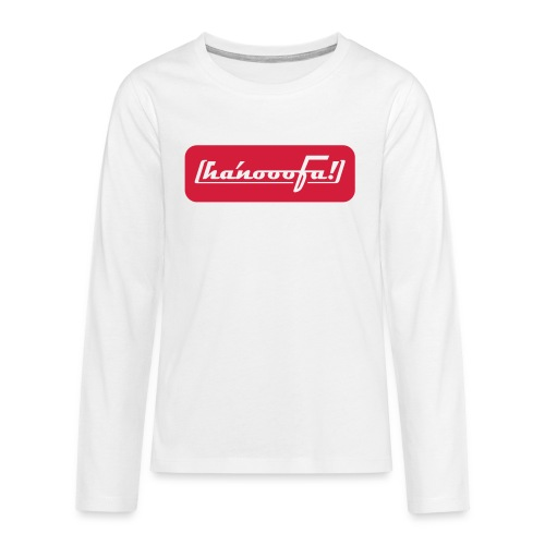 ABSOLUT HANNOVER BEKENNER JUNGS-SHIRT - Teenager Premium Langarmshirt