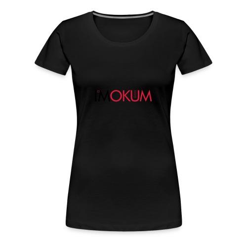 I*mokummagazine beanie - Vrouwen Premium T-shirt