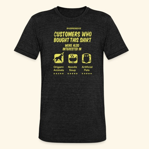 Empfehlung: Blade Runner - Unisex Tri-Blend T-Shirt von Bella + Canvas