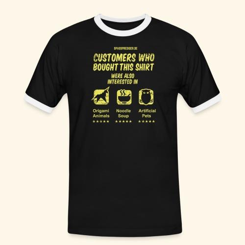 Empfehlung: Blade Runner - Männer Kontrast-T-Shirt