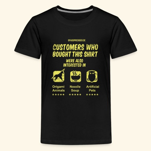 Empfehlung: Blade Runner - Teenager Premium T-Shirt