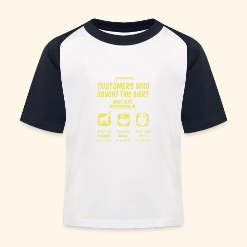 Empfehlung: Blade Runner - Kinder Baseball T-Shirt