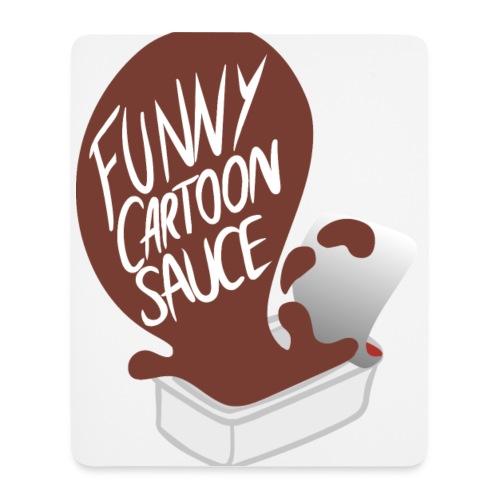 FUNNY CARTOON SAUCE - Mens - Mouse Pad (vertical)