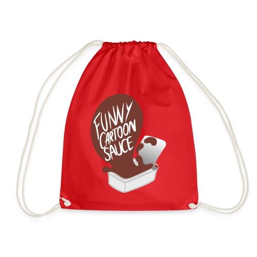 FUNNY CARTOON SAUCE - Mens - Drawstring Bag