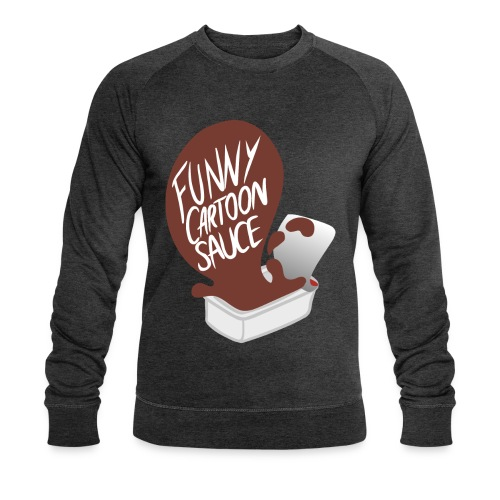 FUNNY CARTOON SAUCE - Mens - Men's Organic Sweatshirt by Stanley & Stella