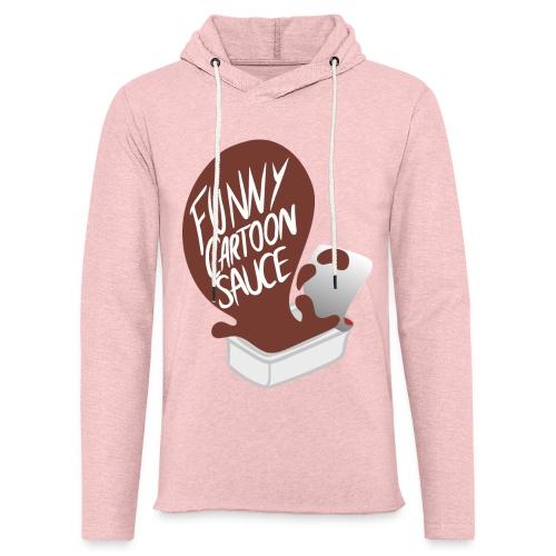 FUNNY CARTOON SAUCE - Mens - Light Unisex Sweatshirt Hoodie