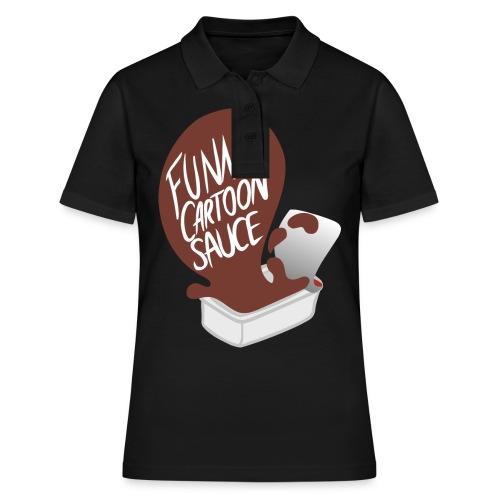 FUNNY CARTOON SAUCE - Mens - Women's Polo Shirt