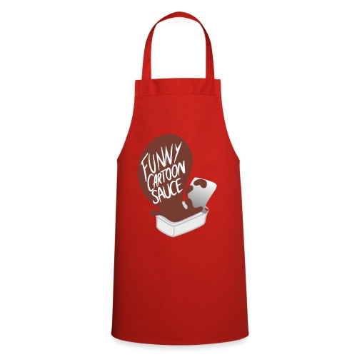 FUNNY CARTOON SAUCE - Mens - Cooking Apron