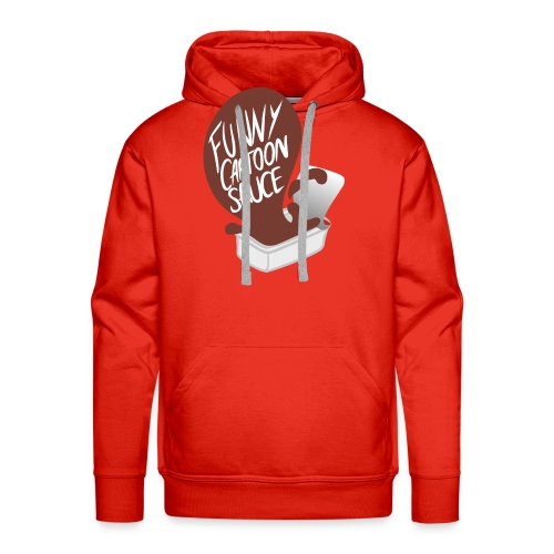 FUNNY CARTOON SAUCE - Mens - Men's Premium Hoodie