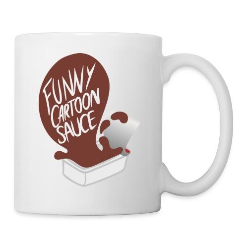 FUNNY CARTOON SAUCE - Mens - Mug