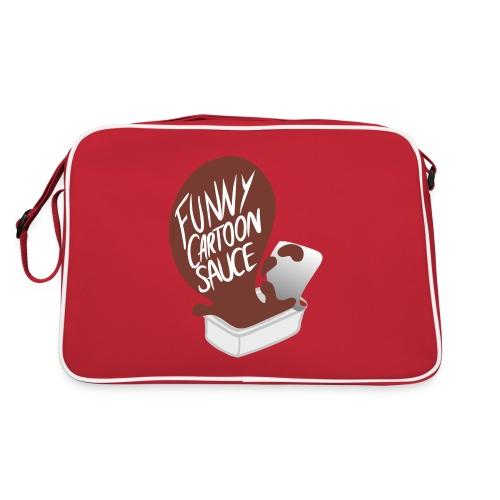 FUNNY CARTOON SAUCE - Mens - Retro Bag