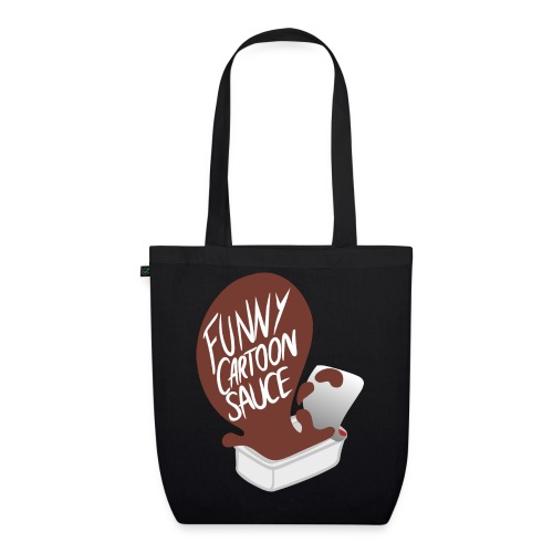 FUNNY CARTOON SAUCE - Mens - EarthPositive Tote Bag