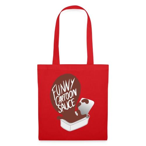 FUNNY CARTOON SAUCE - Mens - Tote Bag