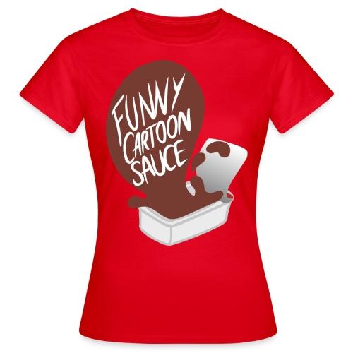 FUNNY CARTOON SAUCE - Mens - Women's T-Shirt