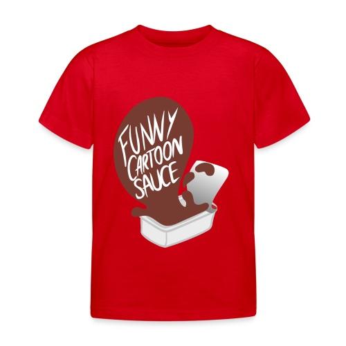 FUNNY CARTOON SAUCE - Mens - Kids' T-Shirt