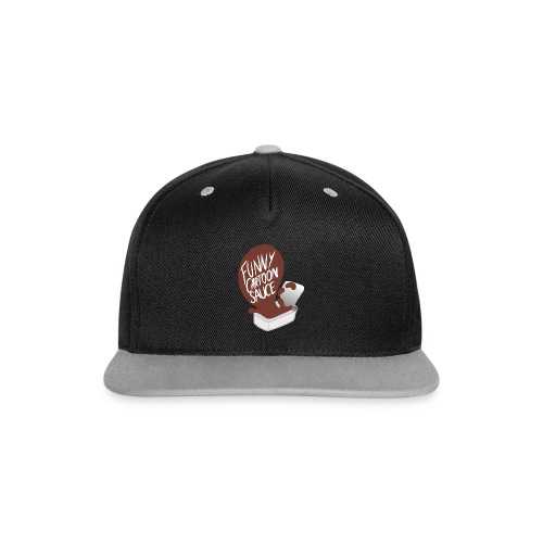 FUNNY CARTOON SAUCE - Mens - Contrast Snapback Cap
