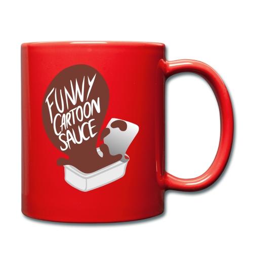 FUNNY CARTOON SAUCE - Mens - Full Colour Mug