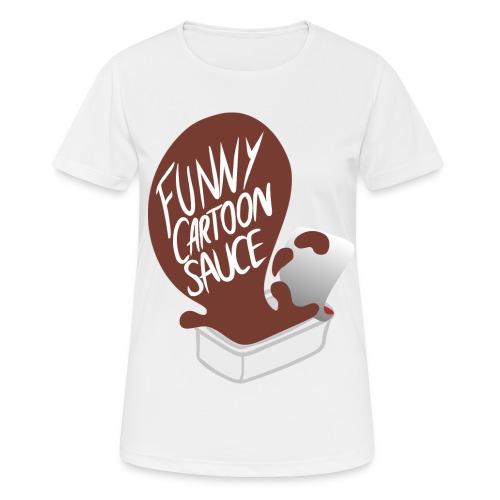 FUNNY CARTOON SAUCE - Mens - Women's Breathable T-Shirt
