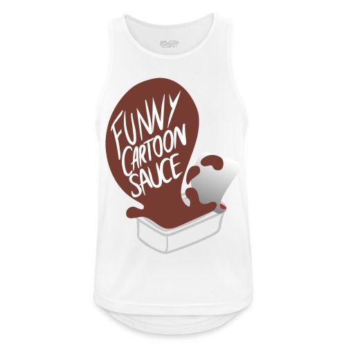 FUNNY CARTOON SAUCE - Mens - Men's Breathable Tank Top