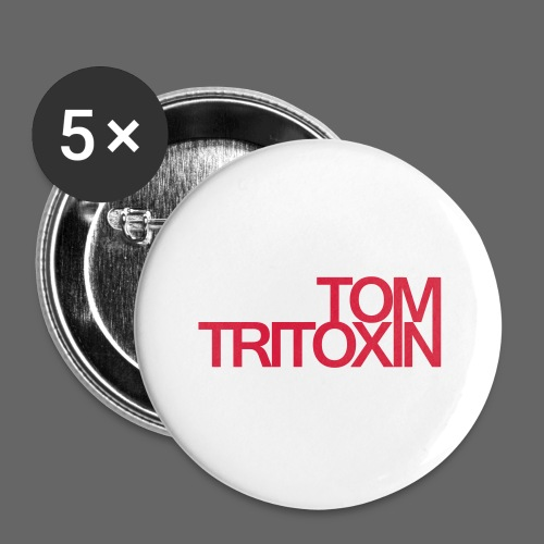 32mm Tritoxin Button - Buttons klein 25 mm (5er Pack)