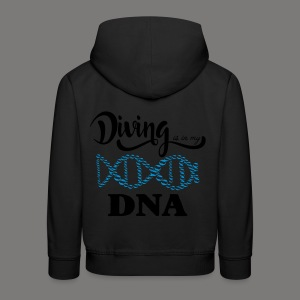 Diving is in my DNA - 2017 - Kinder Premium Hoodie