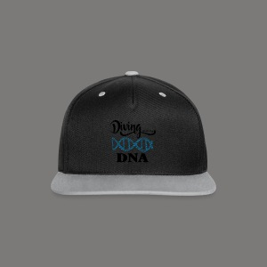Diving is in my DNA - 2017 - Kontrast Snapback Cap