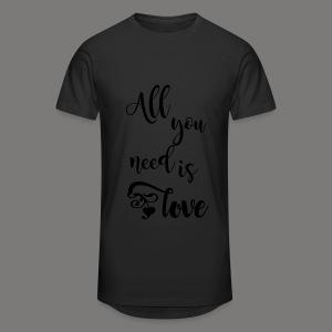 All you need is love 2017 - Männer Urban Longshirt