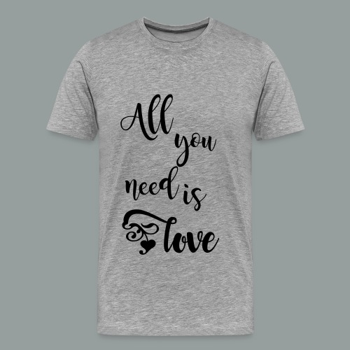 All you need is love 2017 - Männer Premium T-Shirt