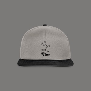 All you need is love 2017 - Snapback Cap