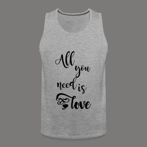 All you need is love 2017 - Männer Premium Tank Top