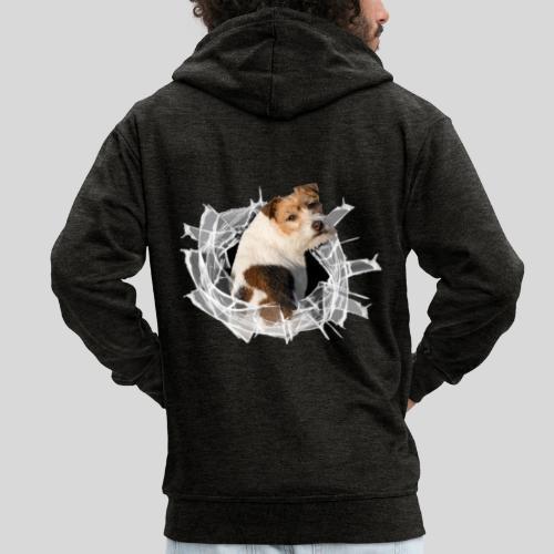 Jack Russell Terrier - Männer Premium Kapuzenjacke