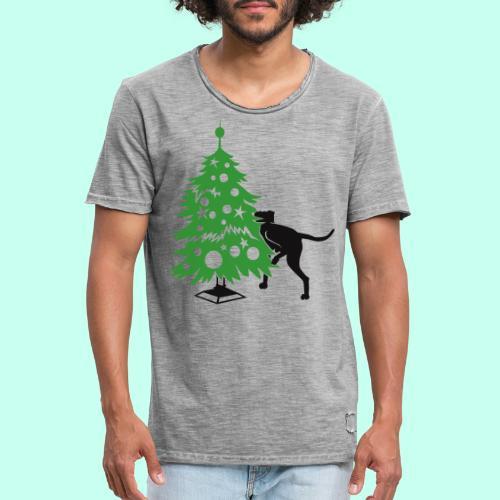 Weihnachtsbaum für Doggen - Männer Vintage T-Shirt
