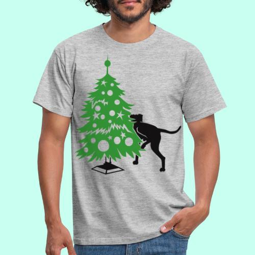 Weihnachtsbaum für Doggen - Männer T-Shirt