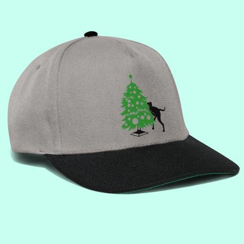 Weihnachtsbaum für Doggen - Snapback Cap