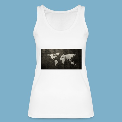 Weltkarte - Frauen Bio Tank Top von Stanley & Stella