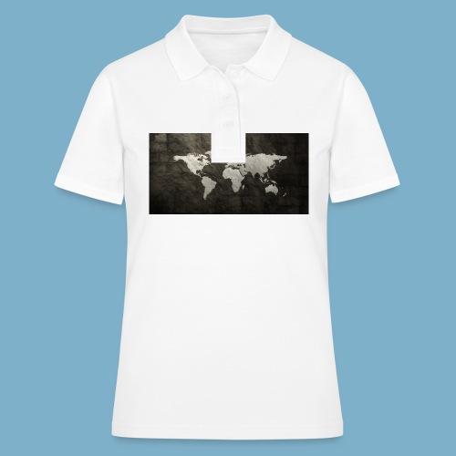 Weltkarte - Frauen Polo Shirt