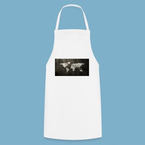Weltkarte - Kochschürze