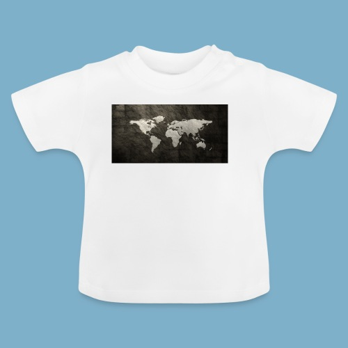 Weltkarte - Baby T-Shirt