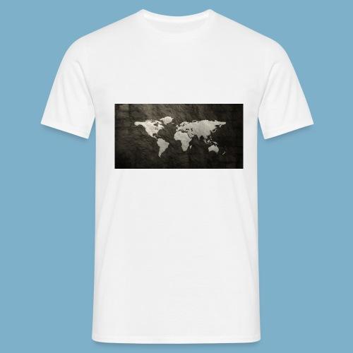 Weltkarte - Männer T-Shirt