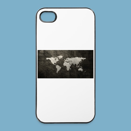 Weltkarte - iPhone 4/4s Hard Case