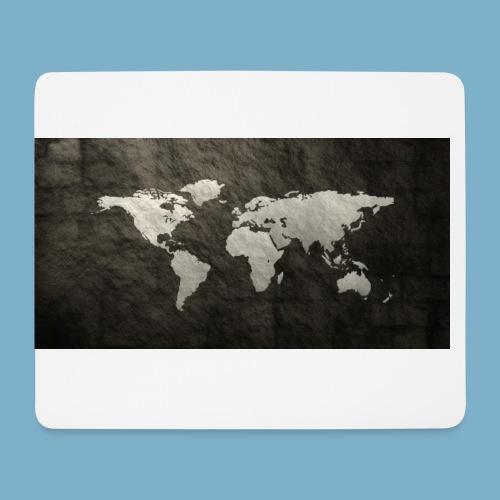 Weltkarte - Mousepad (Querformat)