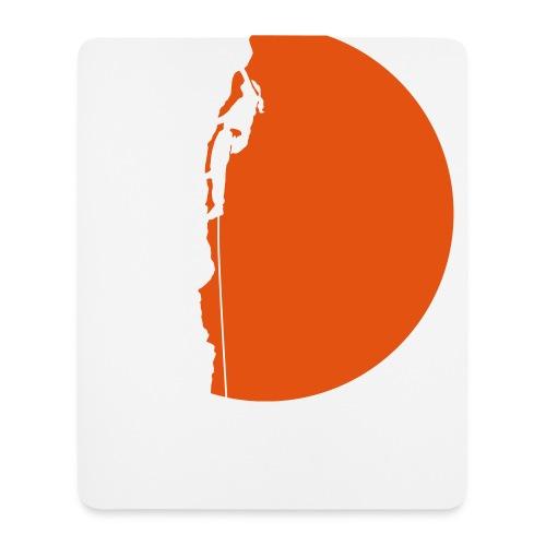 Klettererin Pullover & Hoodies - Mousepad (Hochformat)