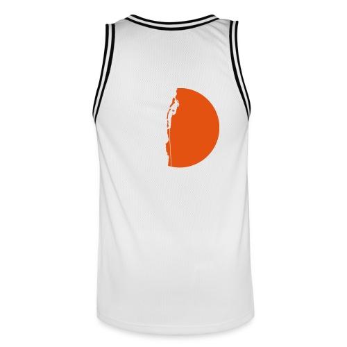 Klettererin Pullover & Hoodies - Männer Basketball-Trikot