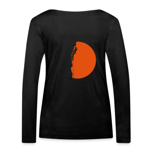 Klettererin Pullover & Hoodies - Frauen Bio-Langarmshirt von Stanley & Stella