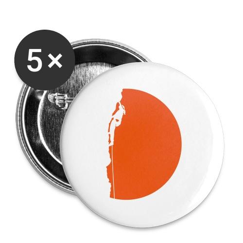 Klettererin Pullover & Hoodies - Buttons klein 25 mm