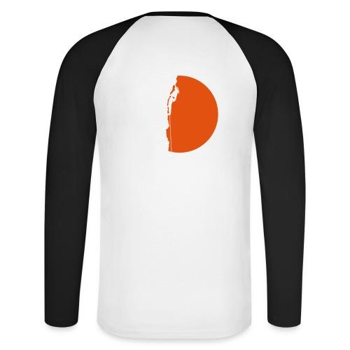 Klettererin Pullover & Hoodies - Männer Baseballshirt langarm